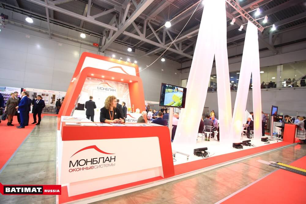 All set up for batimat russia