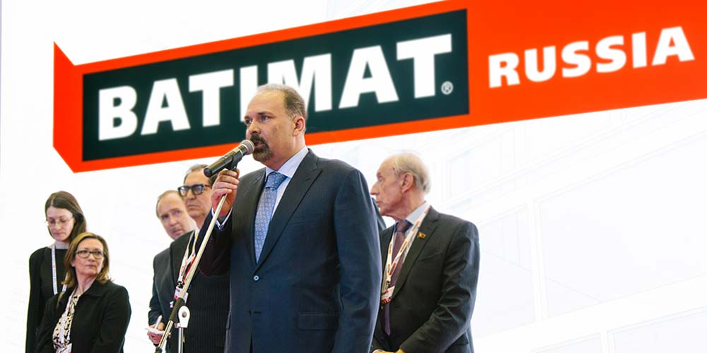 M.A.Men confirmed his attendance at opening ceremony of the BATIMAT RUSSIA