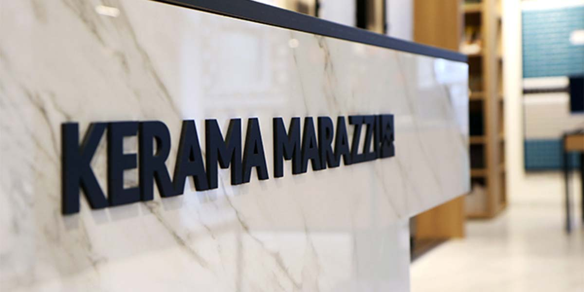 New KERAMA MARAZZI showroom
