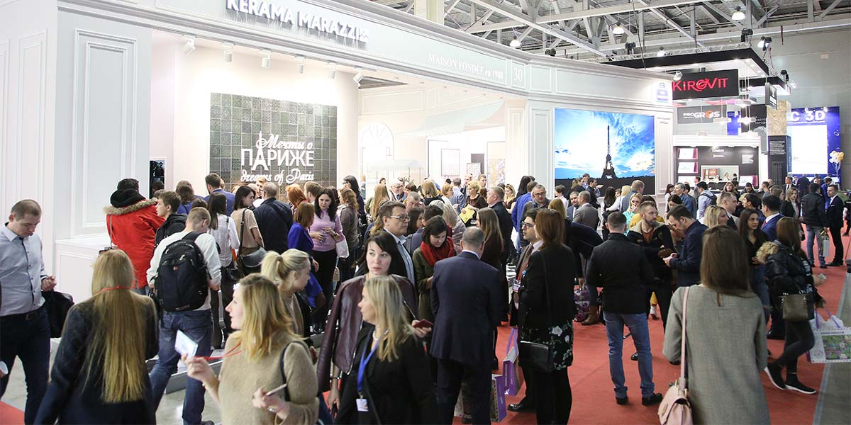 Russian manufacturers of ceramic tiles – only at BATIMAT RUSSIA 2019