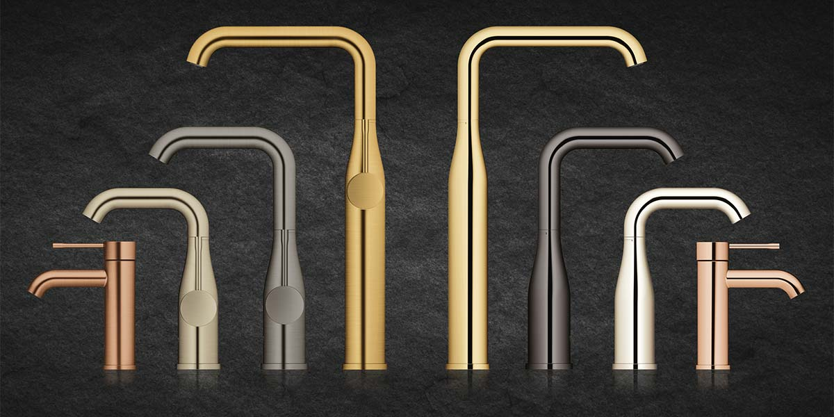 GROHE Colored Mixer Taps