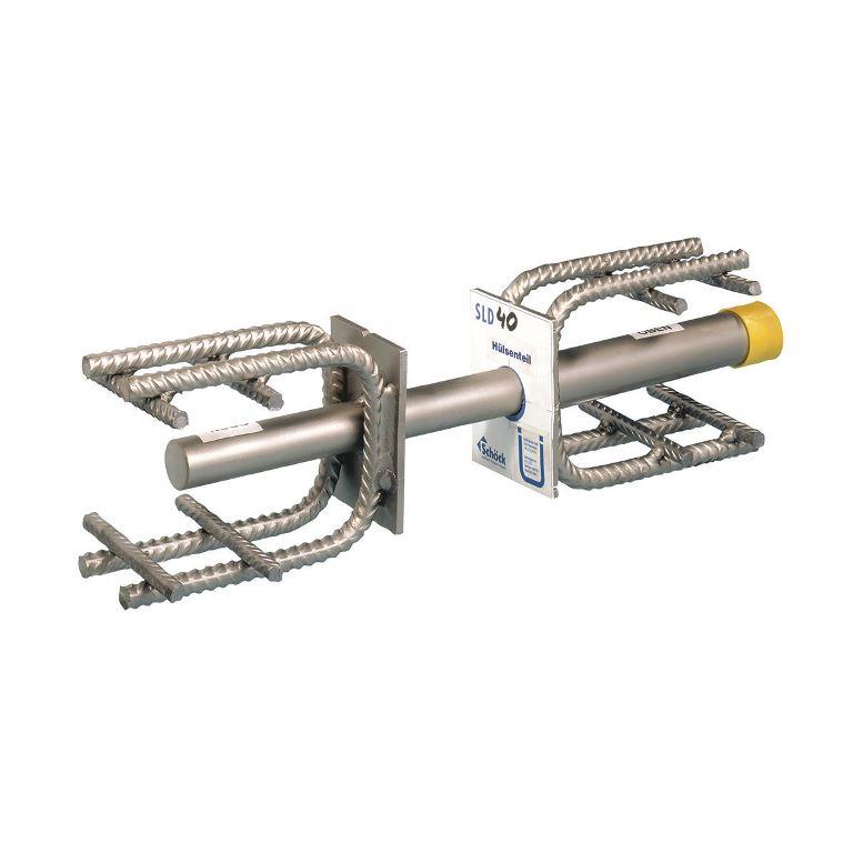 Schöck Dorn тип SLD, скользящий анкер для деформационных швов