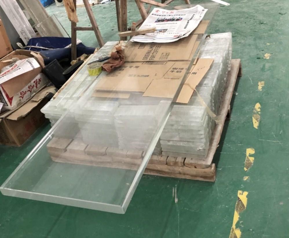 Стеклянные плиты/ступени любой толщины и размера