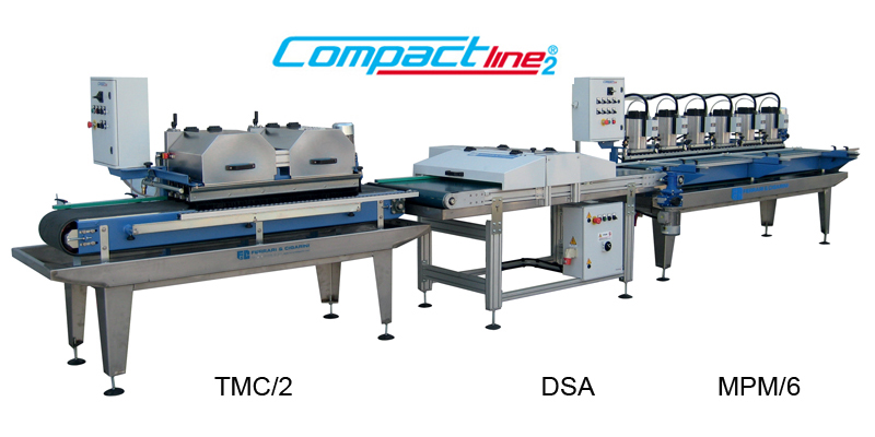 automatic line for cutting and skirting