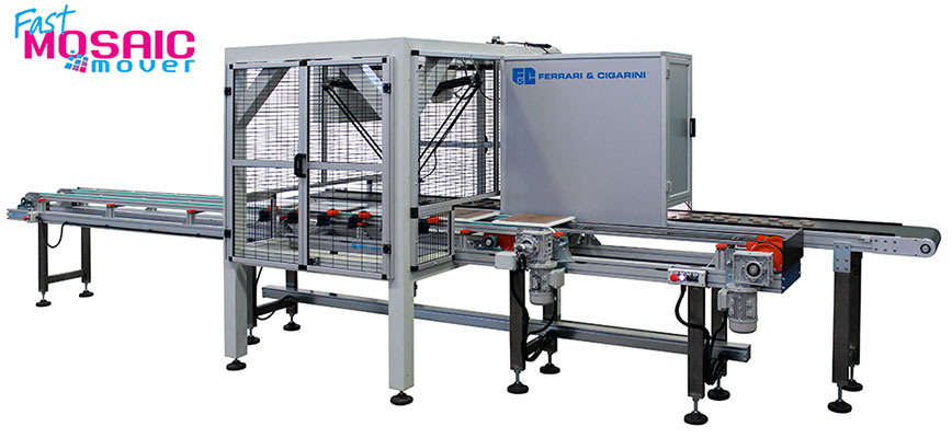 automatic system for assembling mosaic
