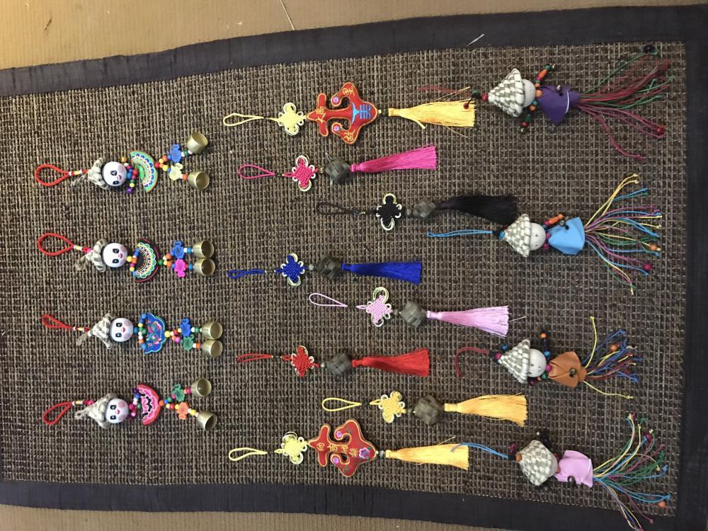 Трава вязание ремесла Grass knitting crafts