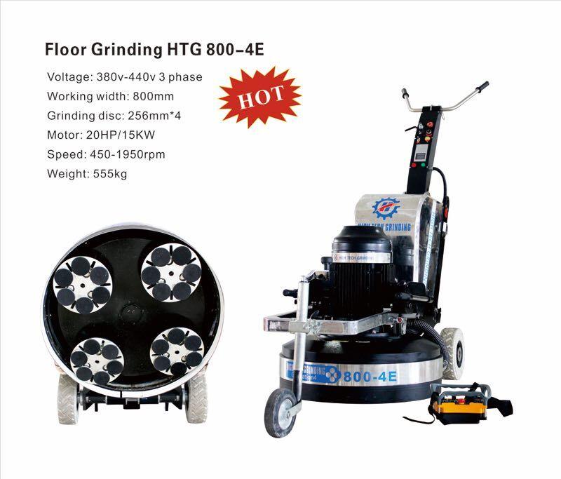 floor polishing machine HTG 800-4E
