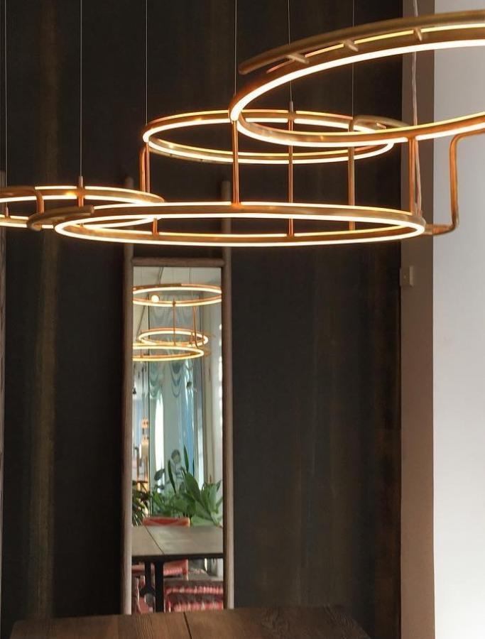 потолочный светильник Broche, новинка, коллекция Collection d'Eric de Dormael
