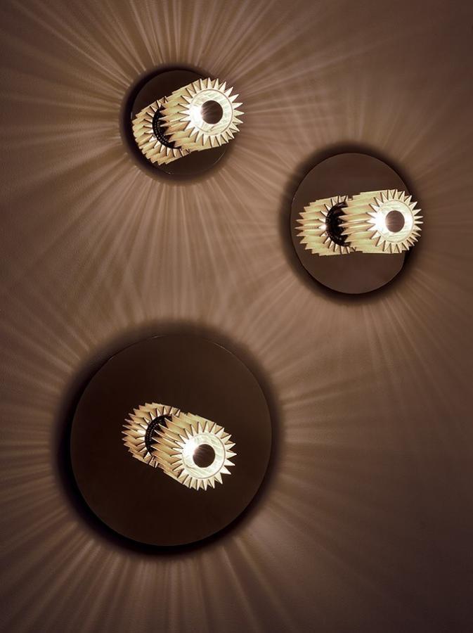 настенные светильники ITS W 190,  ITS 270, ITS 380 silver, коллекция IN THE SUN