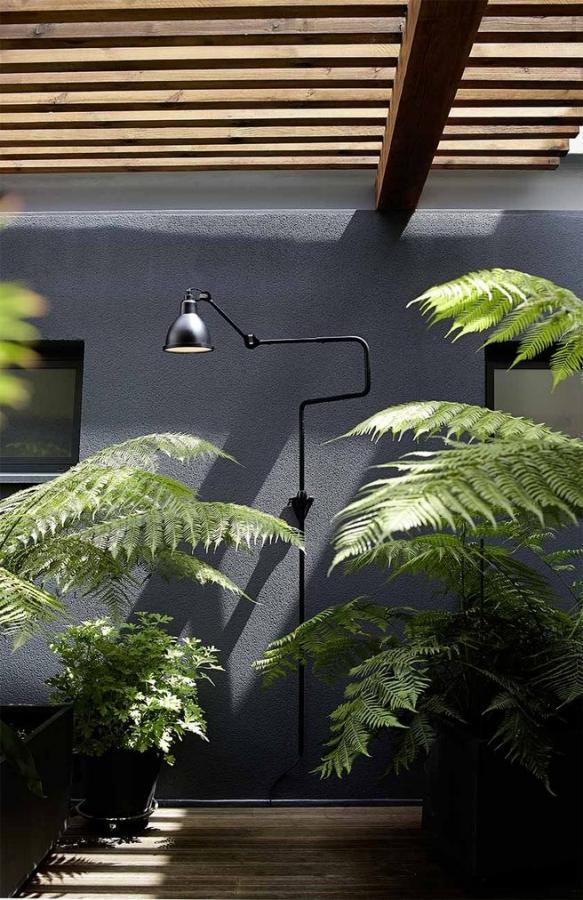 уличный настенный светильник Lampe Gras №217 XL OUTDOOR SEASIDE, коллекция Lampe Gras OUTDOOR SEASIDE