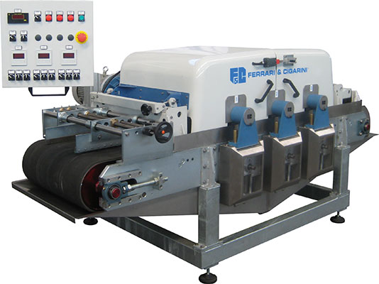 INDUSTRIALINE - CUTTING MACHINE WITH 3 HEADS FOR CERAMIC, MARBLE, STONE AND BRICK