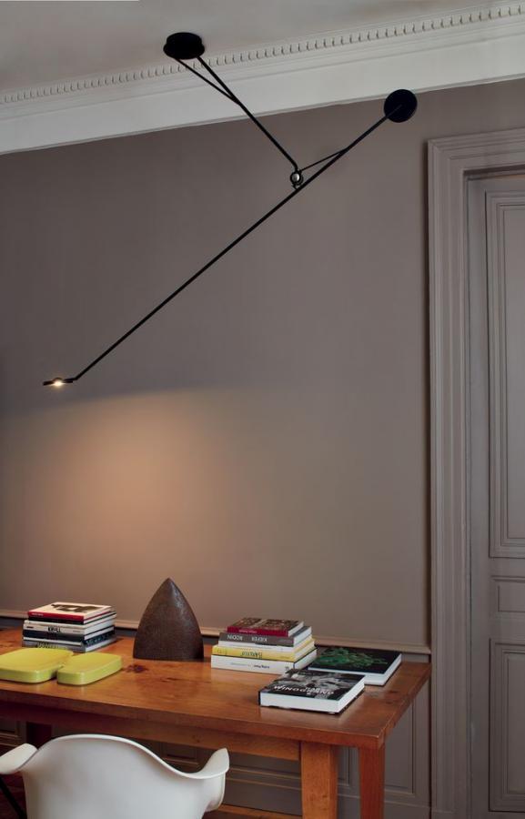 потолоч. лампа AARO от DCW (Франция)